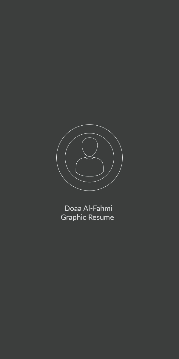 Doaa Al-Fahmi Graphic Resume