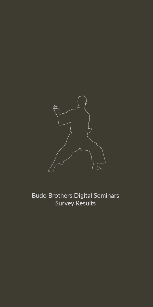 Budo Brothers Digital Seminars Survey Results